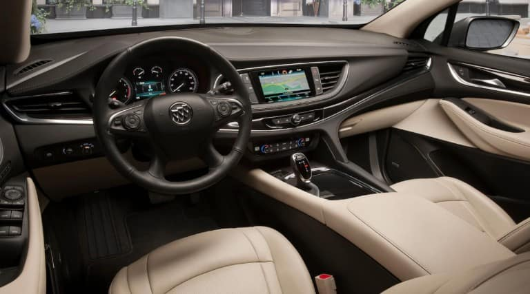Cabin of the 2019 Buick Enclave