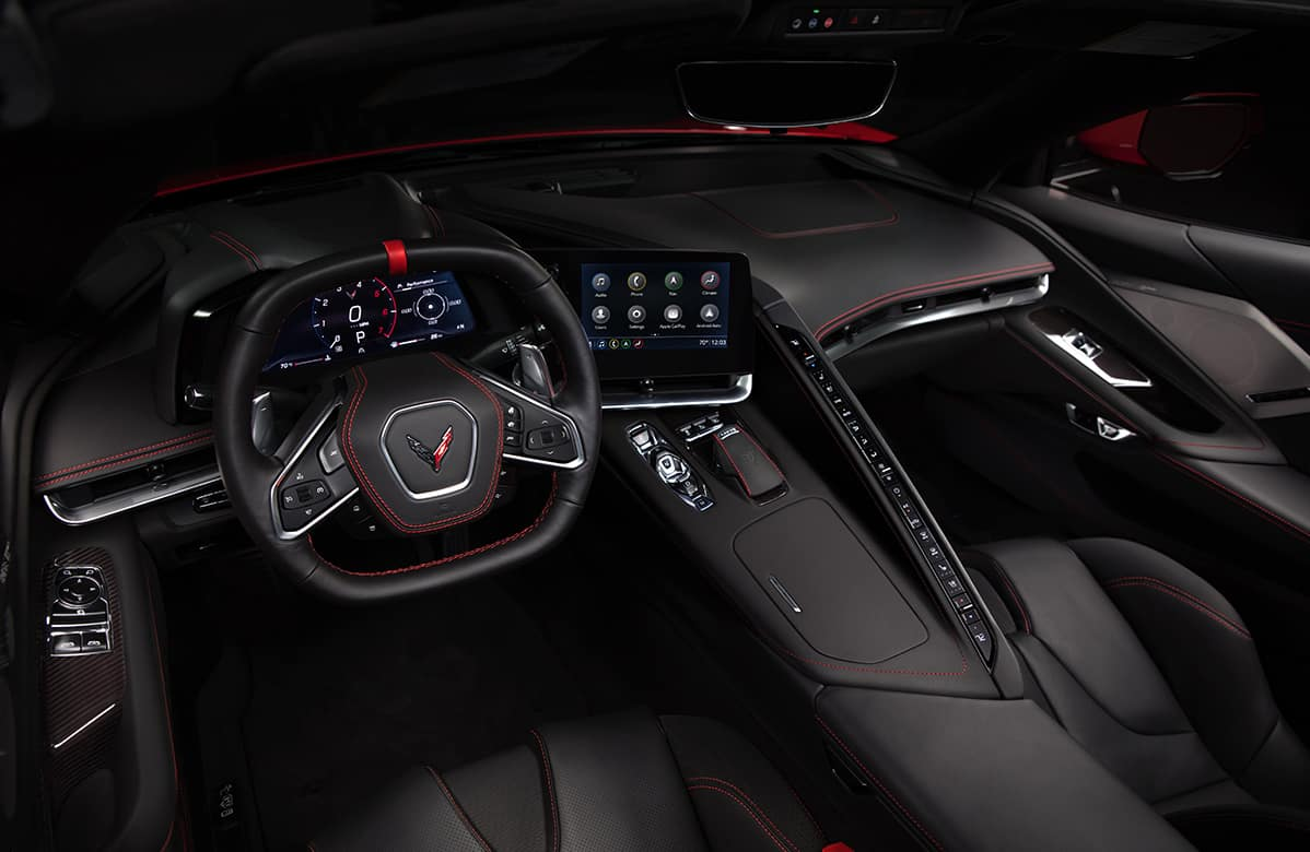 Chevrolet 2020 Corvette Steering Wheel