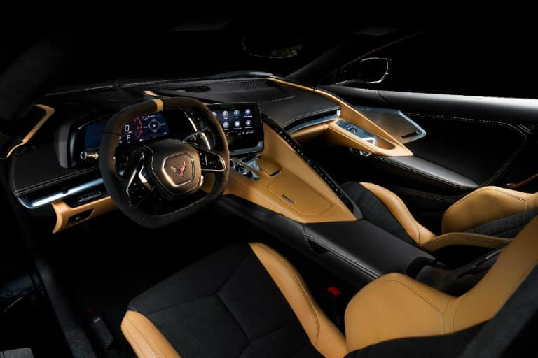 Cabin of the 2020 Chevy Corvette Stingray