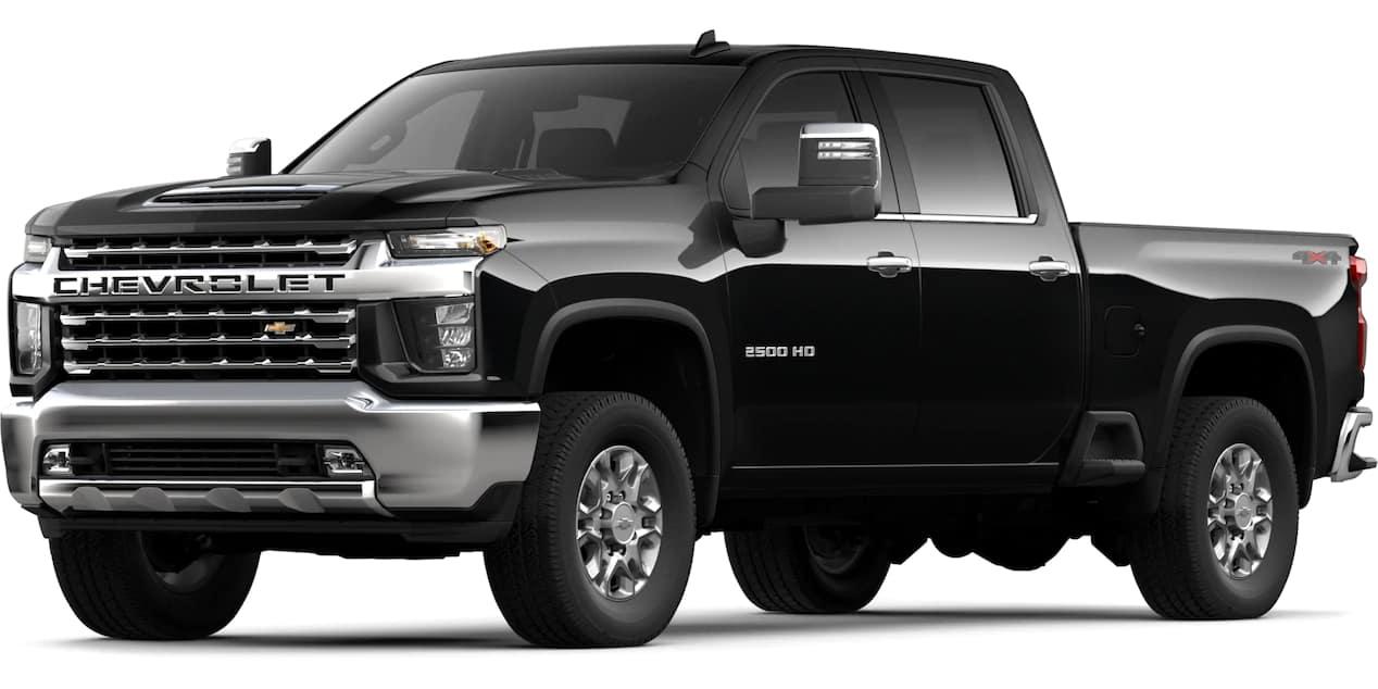 2020 Chevrolet Silverado HD Black Color