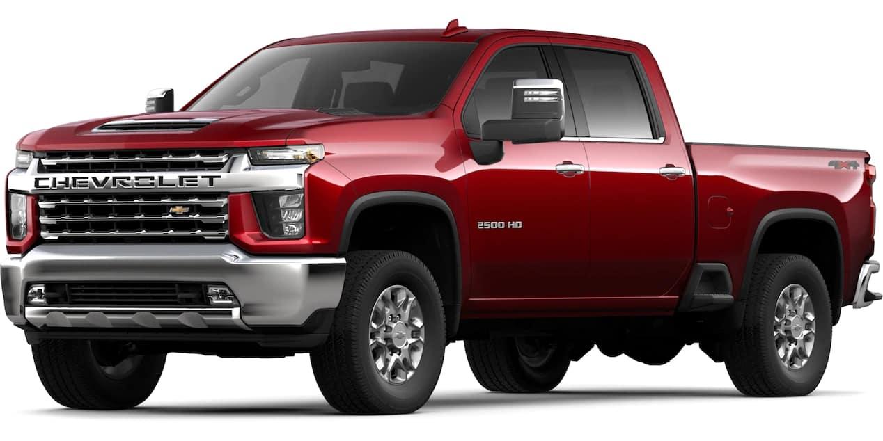 2020 Chevrolet Silverado HD Cajun Red Tintcoat Color
