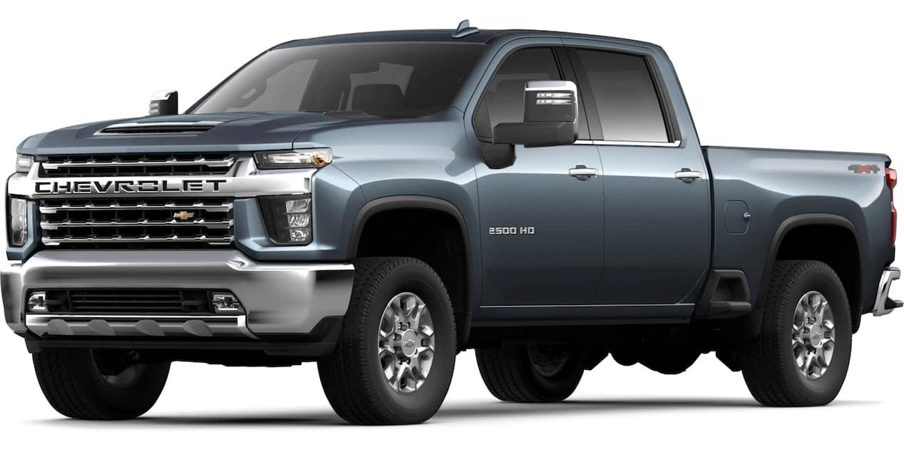 2020 Chevrolet Silverado HD Shadow Gray Metallic Color