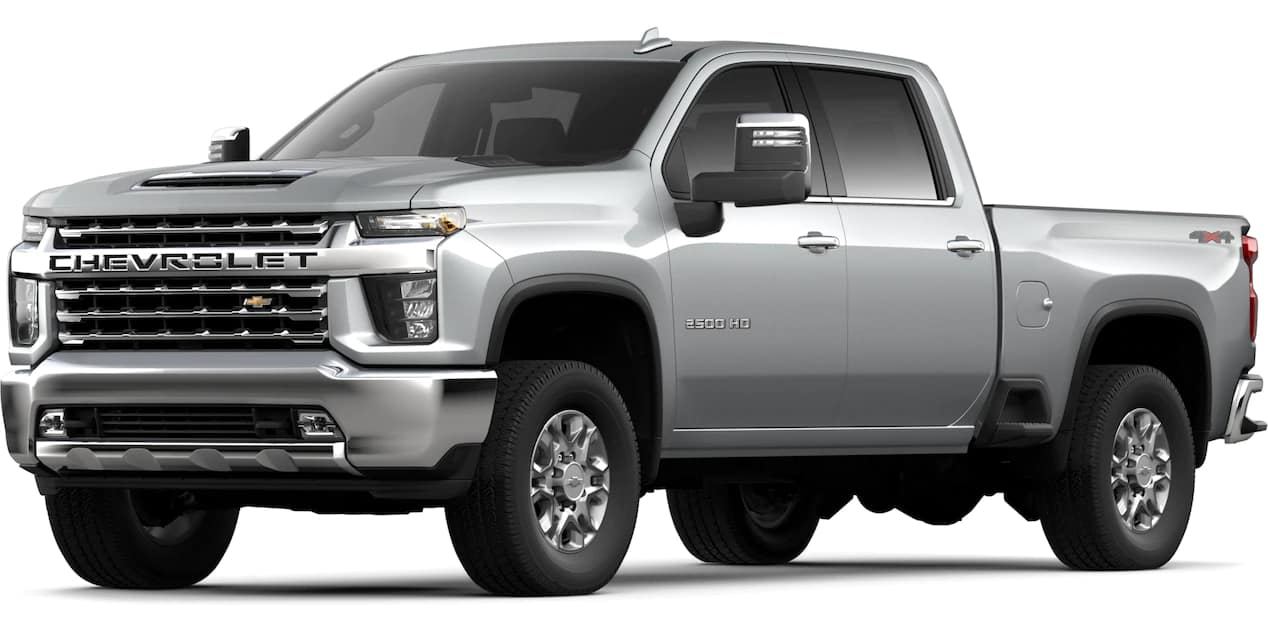 2020 Chevrolet Silverado HD Silver Ice Metallic Color