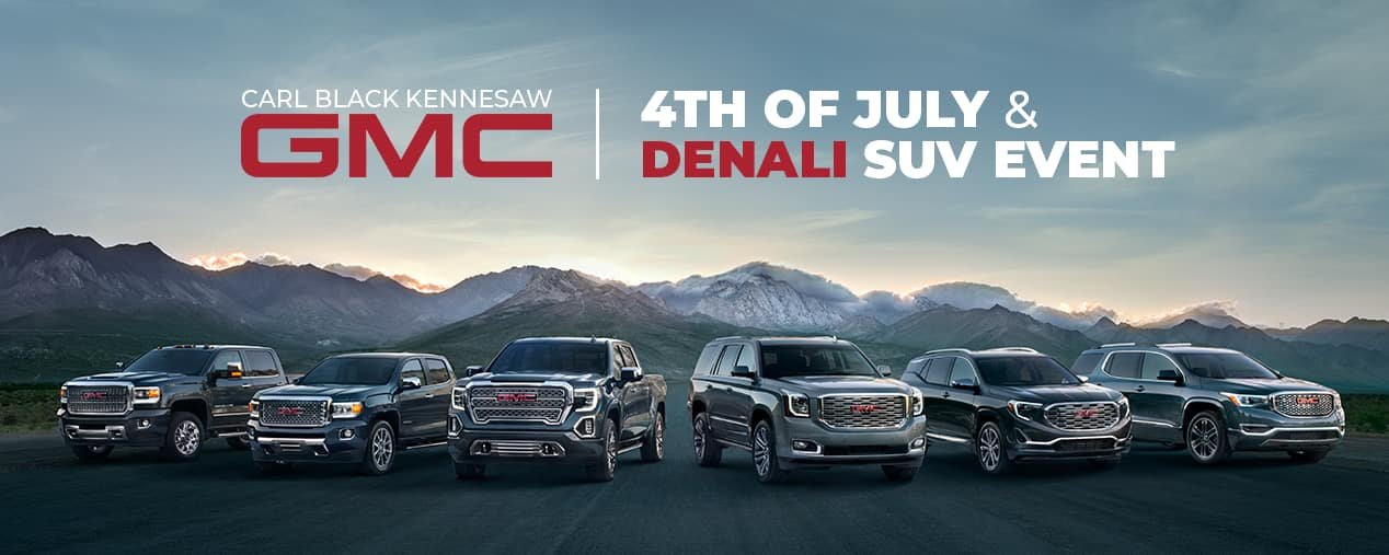 4th of July GMC Denali SUV Sales Event