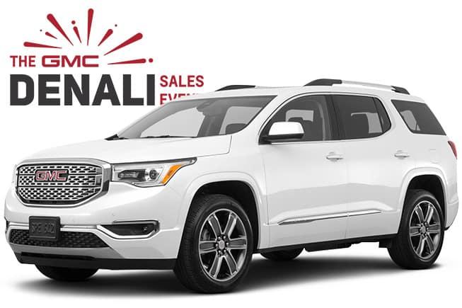 GMC Denali SUV Sales Event Acadia