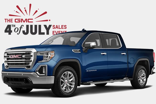 4th of July GMC Sales Event Sierra SLT 1500 HD