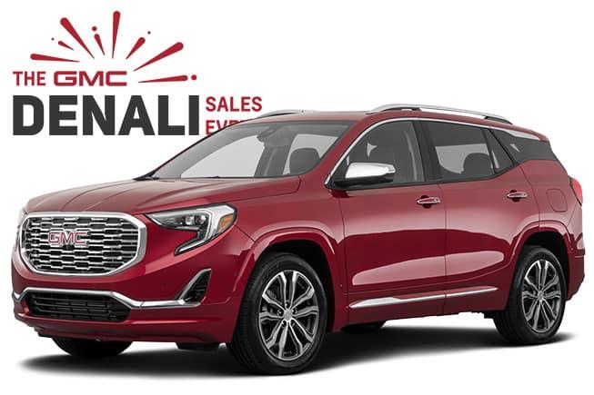 GMC Denali SUV Sales Event Terrain