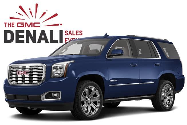 GMC Denali SUV Sales Event Yukon