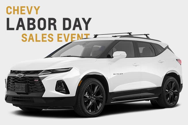 Chevy Labor Day Sales Event Blazer