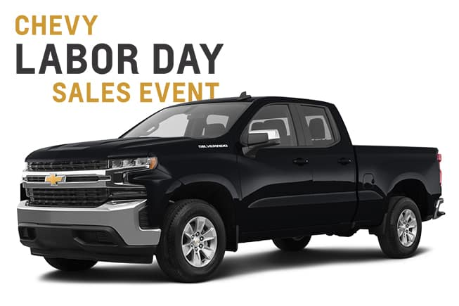 Chevy Labor Day Sales Event Silverado
