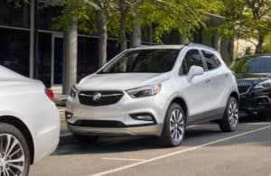2019 Buick Encore parked downtown