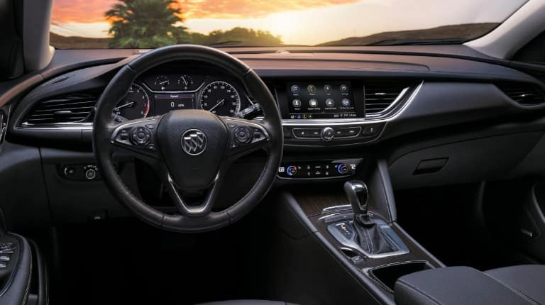 Cabin of the 2019 Buick Regal TourX