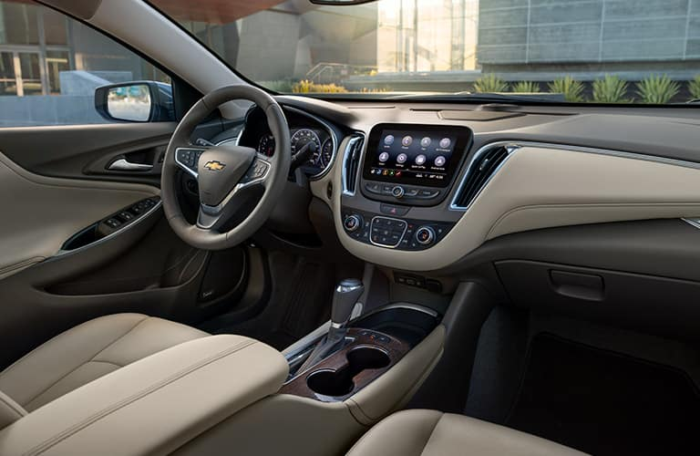 2019 Chevy Malibu's cabin