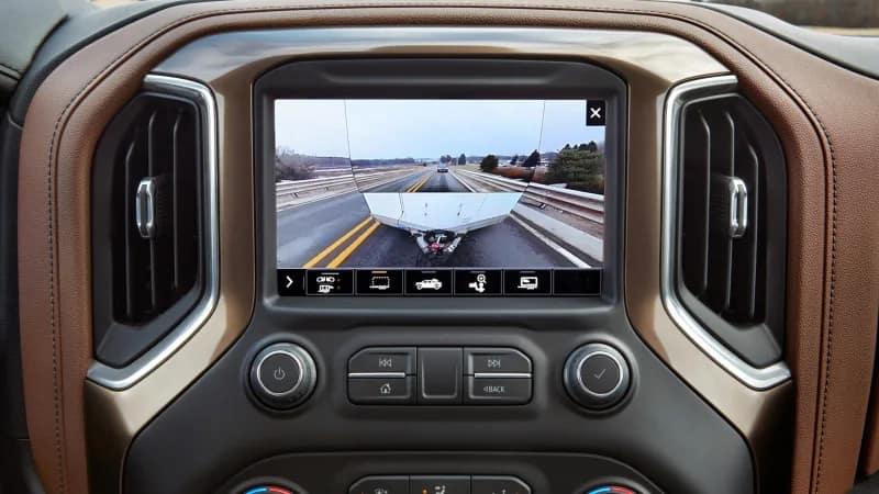2020 Chevrolet Silverado HD Screen