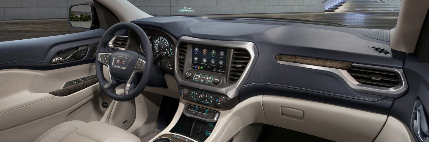 Cabin of the 2020 GMC Acadia
