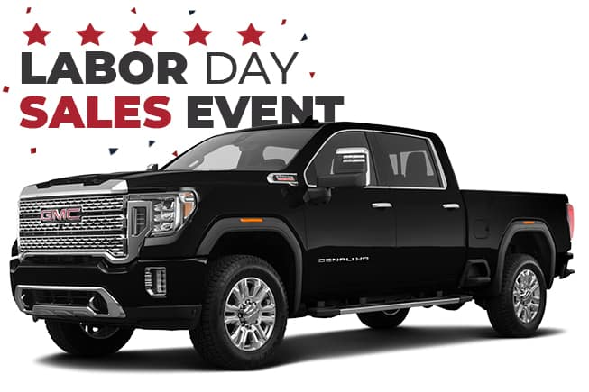 GMC Labor Day Sales Event 2020 Sierra 2500HD