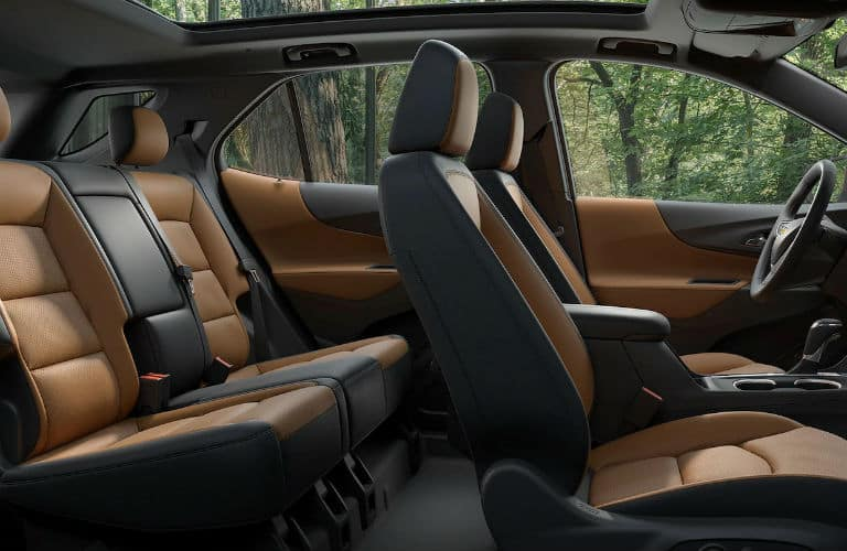 Seats inside the 2019 Chevy Equinox