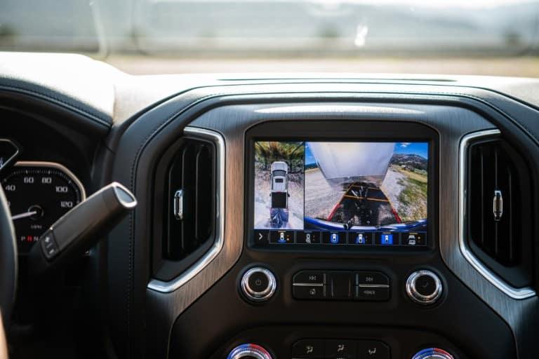 2020 GMC Sierra HD's touchscreen