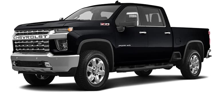 2020 Chevy Silverado 2500HD Black
