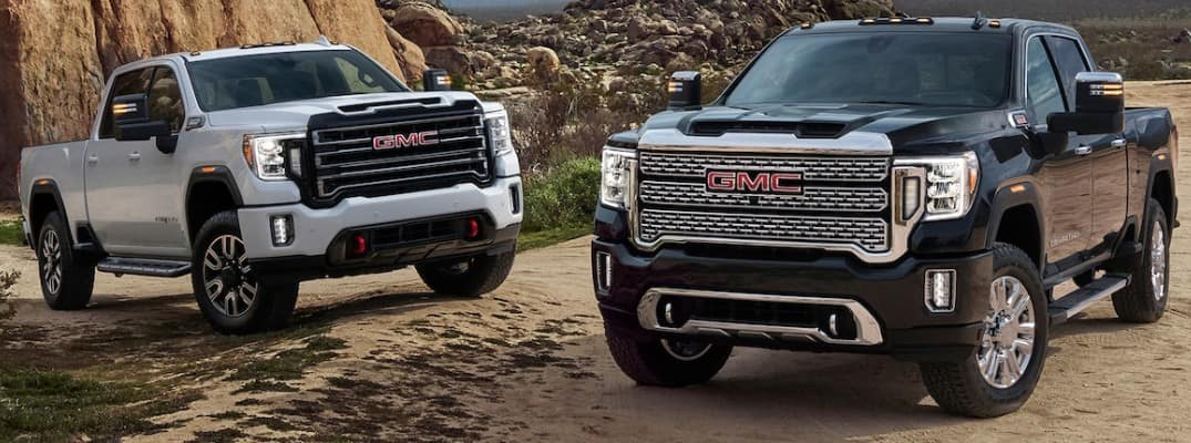 2019 GMC Sierra 2500HD and 3500HD
