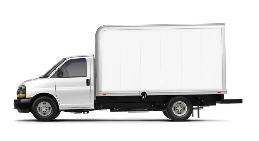 2020 Chevy Express Cutaway Van