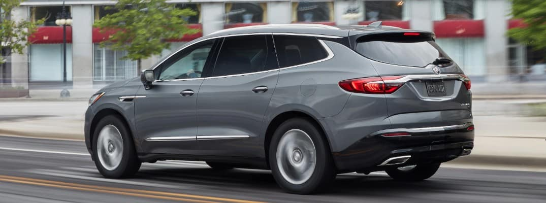 2020 Buick Enclave driving downtown