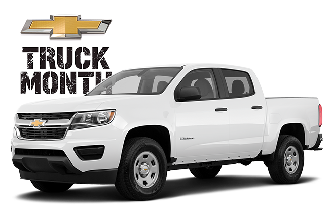 Chevy Truck Month 2019 Colorado WT Base