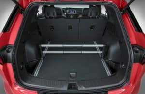 Cargo space in the 2020 Chevy Blazer