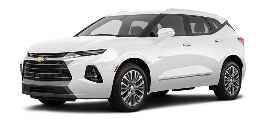 2019 Chevy Blazer White Premier Model