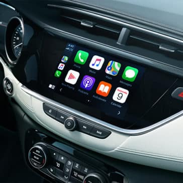 2020 Buick Encore GX Apple Carplay