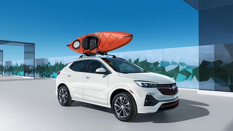 2020 Buick Encore GX Sport Touring with Kayak
