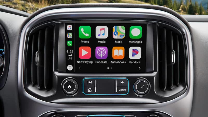 2020 Chevy Colorado Apple Carplay