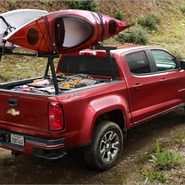 2020 Chevy Colorado Bedrack