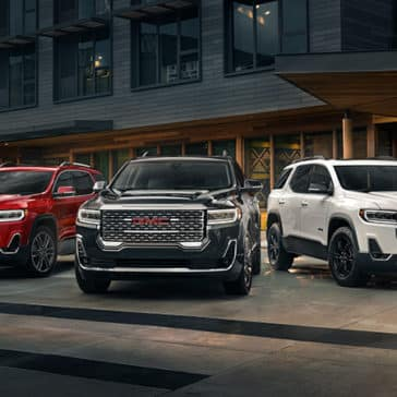 2020 GMC Acadia All Trims