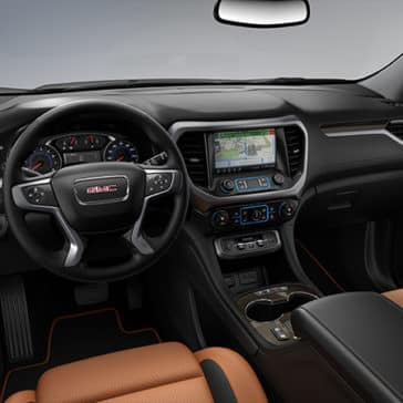 2020 GMC Acadia Interior Dashboard