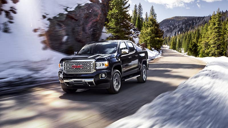2020 GMC Canyon Denali Driving