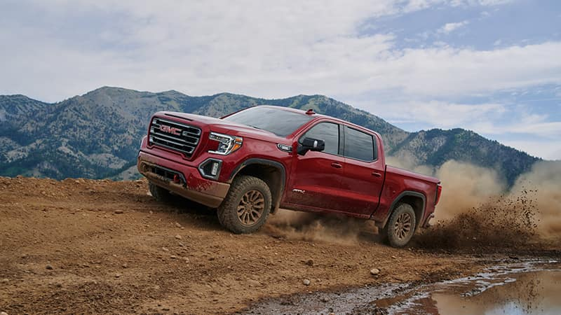 2020 GMC Sierra 1500 AT4 Mudding