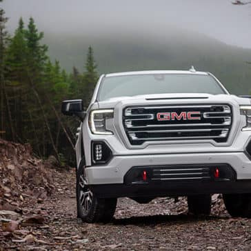 2020 GMC Sierra 1500 AT4 Off-Roading
