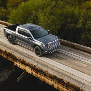 2020 GMC Sierra 1500 Elevation on a bridge