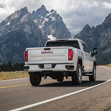2020 GMC Sierra 2500HD Denali Driving in the Mountains