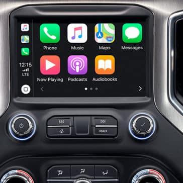 2020 GMC Sierra 3500HD Apple Carplay