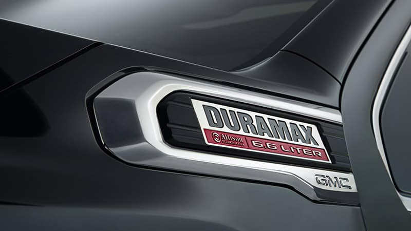 2020 GMC Sierra 3500HD Duramax Badge