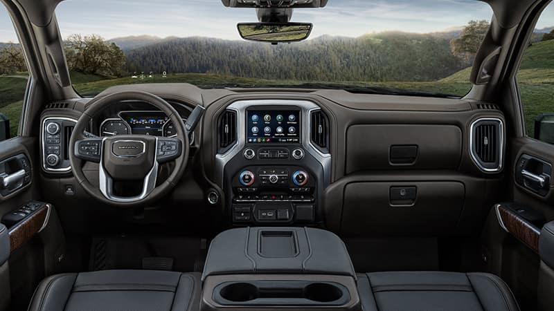 2020 GMC Sierra 3500HD Interior Dashboard
