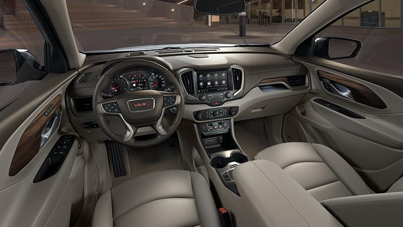 2020 GMC Terrain Interior Dashboard