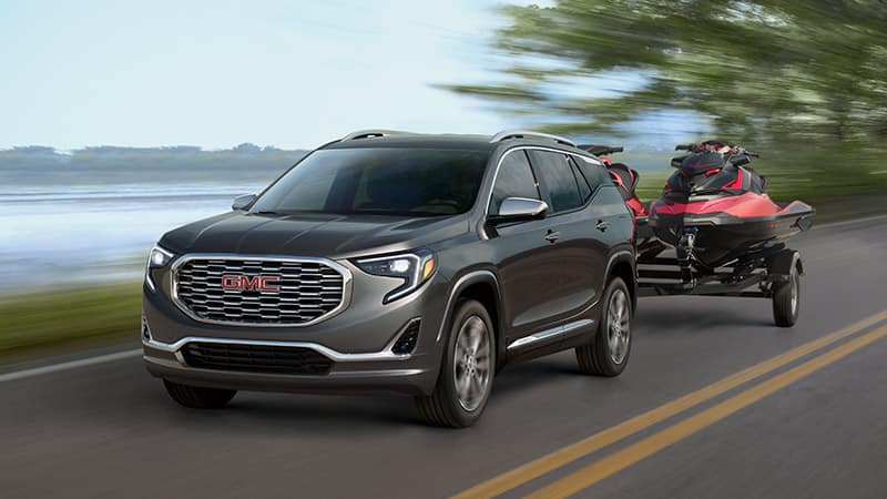 2020 GMC Terrain Towing