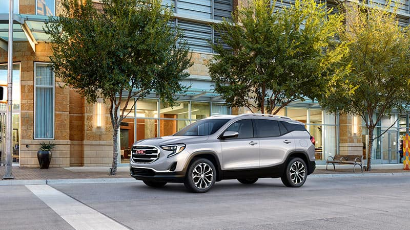 2020 GMC Terrain in the city
