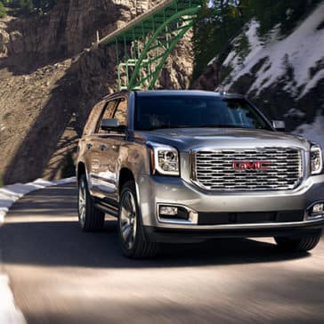 2020 GMC Yukon Denali Driving down road