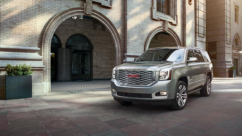 2020 GMC Yukon in the city