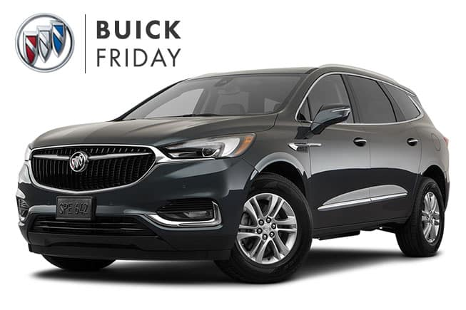 Buick Enclave Black Friday Sales Event