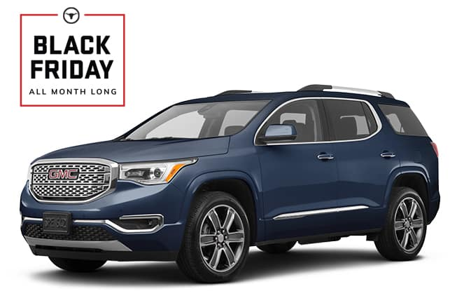 GMC Acadia Denali Black Friday Sales Event